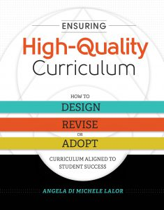 High-Quality Curriculum Book Cover
